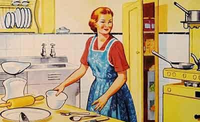 vývoj žen v domácnosti